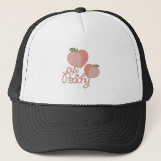 Life Is Peachy Trucker Hat