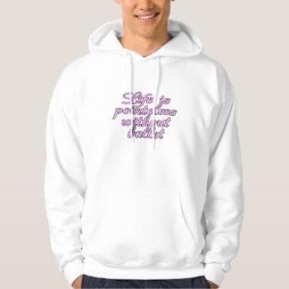 Life is pointeless without ballet hooded sweatshirt