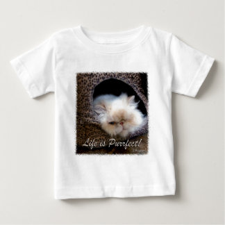 Life is Purrfect Baby T-Shirt