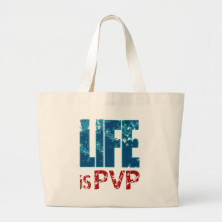 Life is PVP Gamer Design Bags