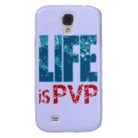 Life is PVP Gamer Design Samsung Galaxy S4 Cases