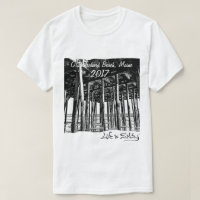 Life is Salty at the beach and we love it! T-Shirt