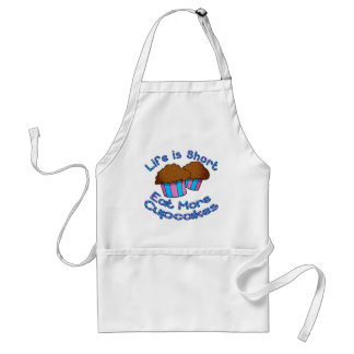 Life is Short Eat More Cupcakes Apron