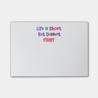 Life is Short... Post-it Notes