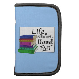 Life is Short. Read Fast. Folio Planners
