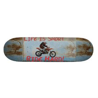 Life is Short... Skate Deck
