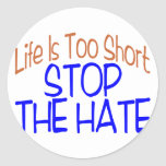 Life Is Short Stickers