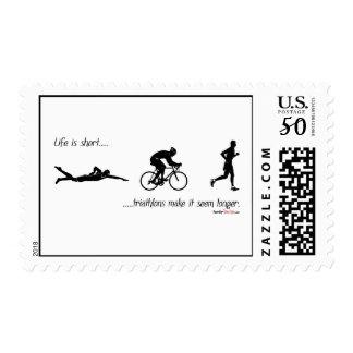Life is short...triathlons make it seem longer. postage