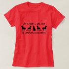 Life is Simple, Eat, Sleep Great Dane, Dog Pet T-Shirt