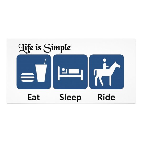 Life is simple, Ride Card