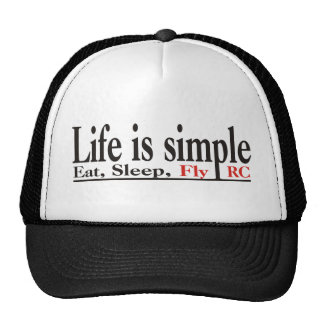 Life is Simple Trucker Hat