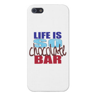 Life is So Chocolate Bar iPhone 5 Cover