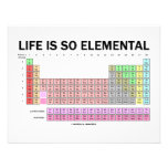 Life Is So Elemental (Periodic Table Of Elements) Announcements