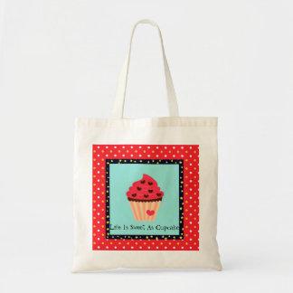 Life is Sweet As Cupcake Tote Bag