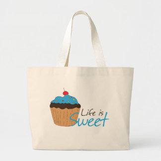 Life is Sweet Canvas Bags