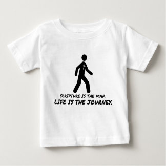 Life is the Journey Christian Baby T-Shirt