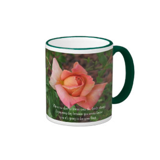 Life Is Too Short - Rose Mug