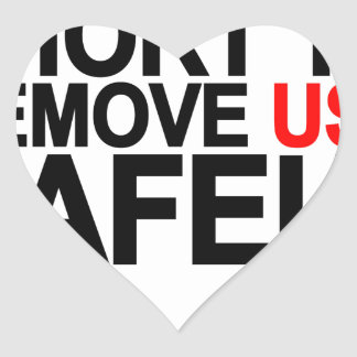 LIFE IS TOO SHORT TO REMOVE USB SAFELY.png Heart Sticker