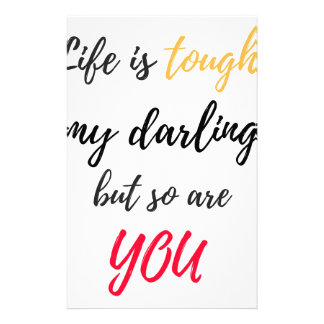 Life is tough,Darling Stationery
