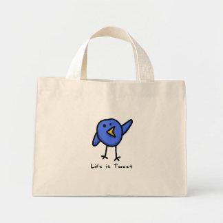 """""""Life is Tweet"""" Floral Bag"""