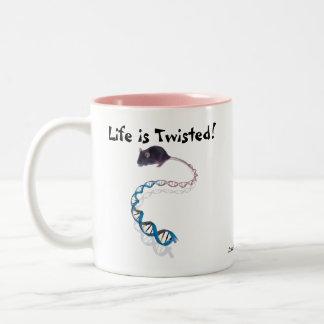 Life Is Twisted! Mug