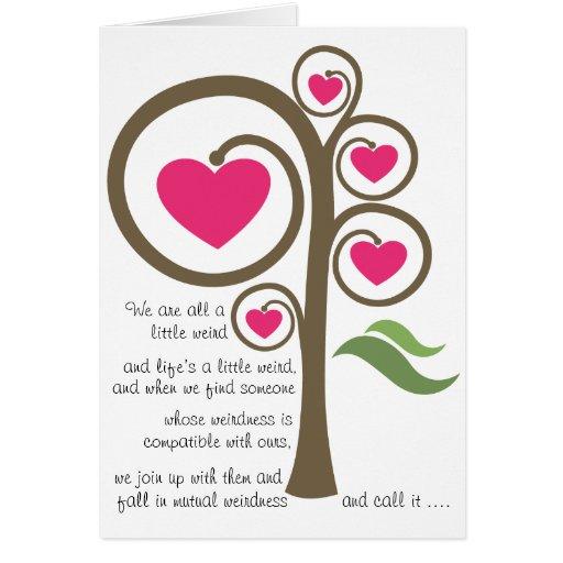Life is Weird - Valentine Card
