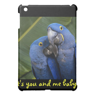 Life is what you make it! Tropical birds iPad Mini Cover