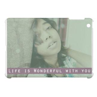 Life is Wonderful iPad Mini Cases
