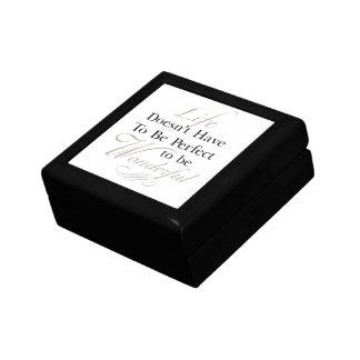 Life is Wonderful Quote Jewelry Box