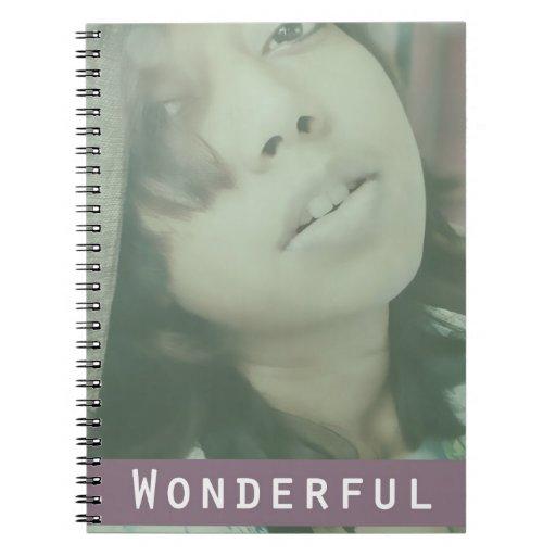 Life is Wonderful Spiral Notebook