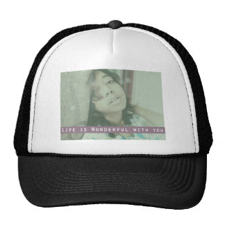 Life is Wonderful Trucker Hat