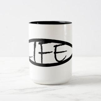 """Life"" Jesus Fish – Mug"