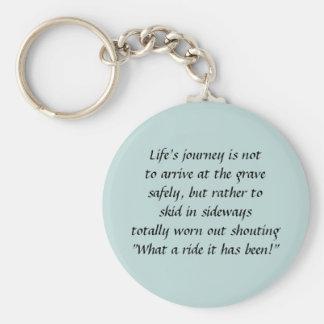 Life Journey Keychain