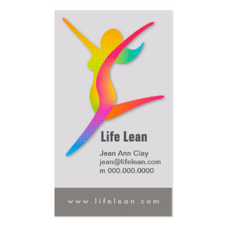 Life Lean Health and Fitness Business Card