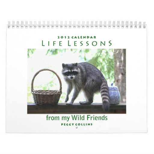 Life Lessons Animal Calendar