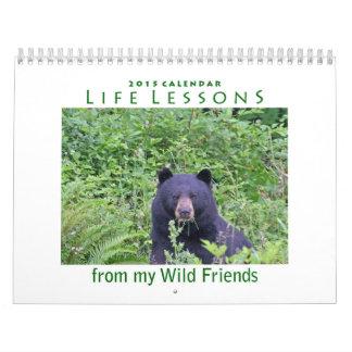 Life Lessons Animal Calendar 2015