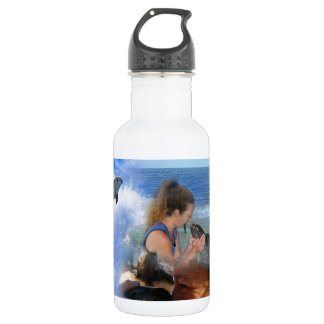 Life Lessons from the Animal World 18oz Water Bottle