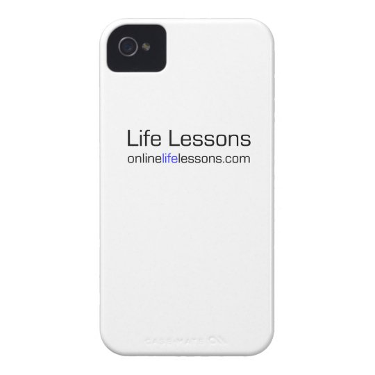 Life Lessons iPhone Cover