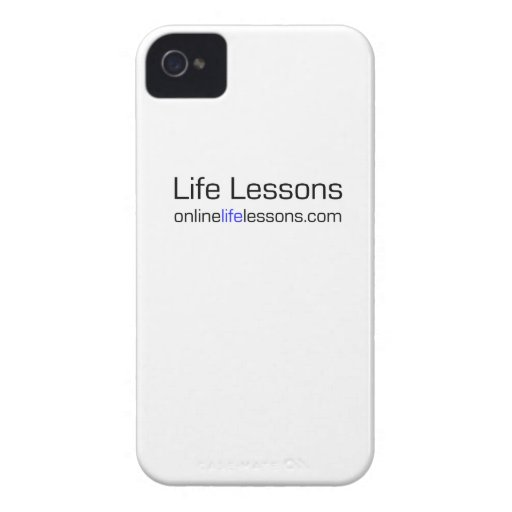 Life Lessons iPhone Cover iPhone 4 Cover