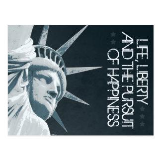 Life, Liberty, Happiness Postcard