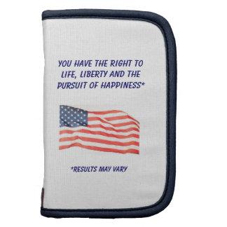 Life, Liberty...Happiness Rickshaw Folio Organizer