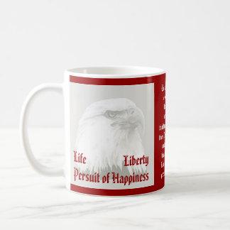 Life, Liberty, persuit patriotic Coffee Mug
