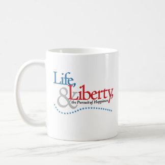 Life, Liberty, & the Pursuit of Happiness Mug