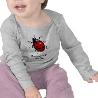 Life-like ladybug: Gramma's Little Love Bug: Art Tshirts