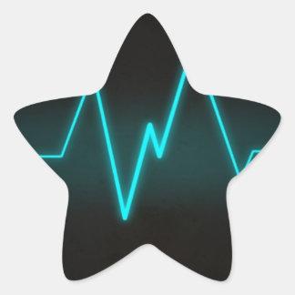 life line pattern selection star sticker