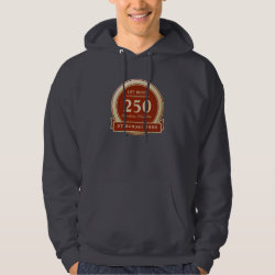 Men's Basic Hooded Sweatshirt with Custom Life List T-Shirts design