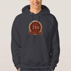 Men's Basic Hooded Sweatshirt with Custom Life List T-Shirts design