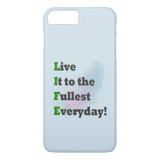 LIFE - Live It To The Fullest cute iPhone case