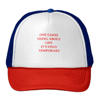 life,living,suffer,suffering,dying,pain,misery,fin trucker hat