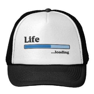 life loading trucker hat